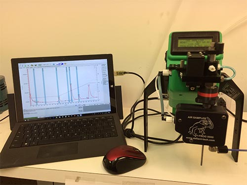 FROG Portable Gas Chromatograph GC - With a computer