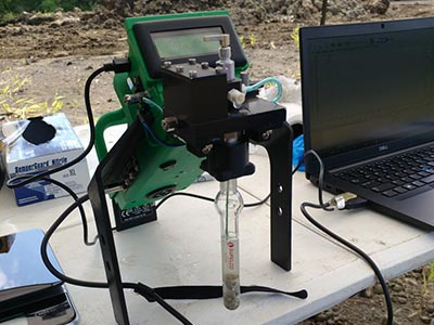 FROG Portable Gas Chromatograph GC - In the field