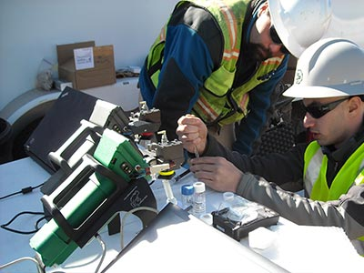 FROG portable gas chromatograph GC - Remediation Sites