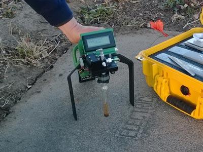 Soil Application - FROG Portable Gas Chromatograph GC