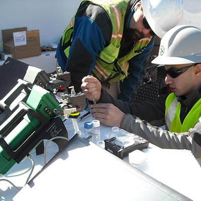 Soil Analysis Remediation Frog Portable Gas Chromatograph GC