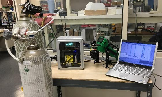 Bass-100 Automated Calibration Gas Diluter with FROG