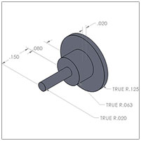 12mm IMS Pusher Part# DT-ION-PUSHER