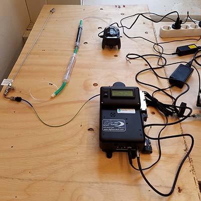 air analysis tocam portable gas chromatograph GC