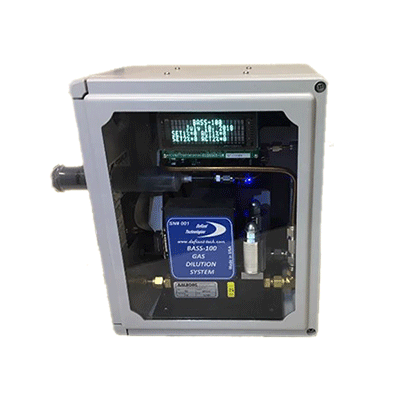 BASS-100 Automated Calibration Gas Diluter
