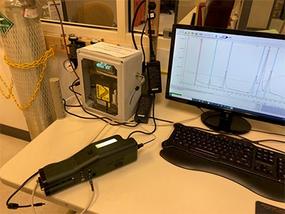 Air FROG Portable Gas Chromatograph GC PID - In the field