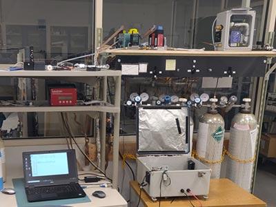 VOCAM portable gas chromatograph GC PID - calibrate it