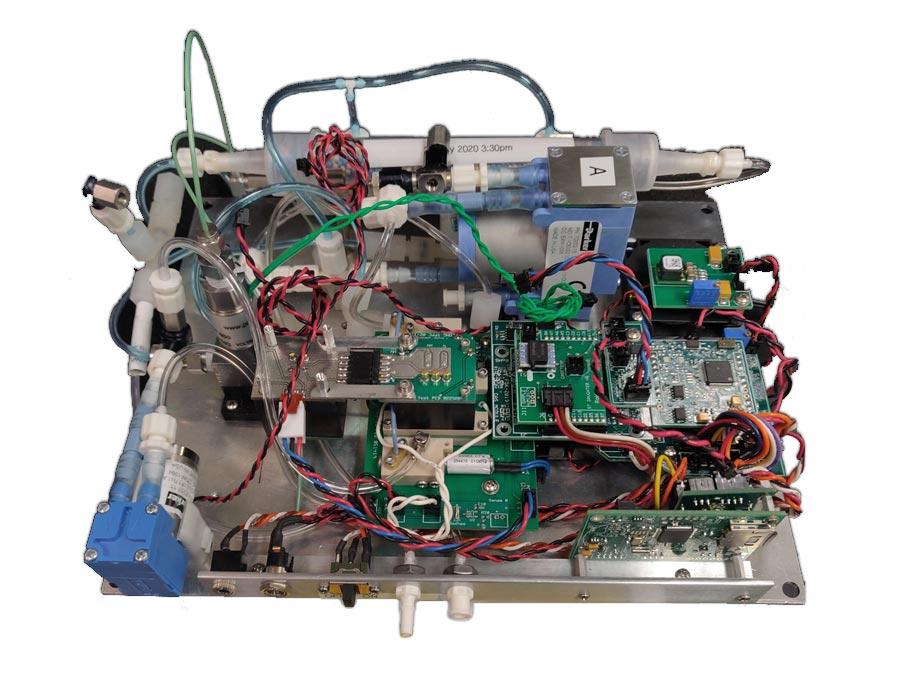 VOCAM Portable GC PID Gas Chromatograph Photoionization Detector in Air